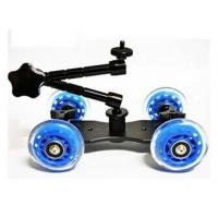 Quality Super Mute Camera Table Dolly Skater Wheel Truck Slider for DSLR Camera Video for sale