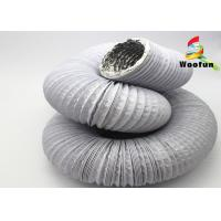 Wholesale Expandable Round Flexible Duct PVC Aluminum For Air Conditioning System from china suppliers