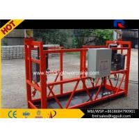 Wholesale Steel Safe Suspended Working Platform Building Construction Equipment 8m/Min Lifting Speed from china suppliers