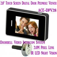 """Wholesale 2.8"""" LCD Screen Digital Peephole Viewer Doorbell Video Camera Recorder Access Control DVR from china suppliers"""