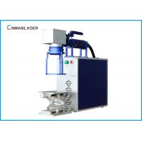 Wholesale Raycus Max Portable Fiber Laser Marking Machine For Metal Auto Parts Buckes from china suppliers