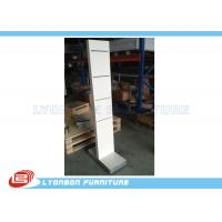Wholesale White Wooden Display Racks Customize For Shop , Exhibit Display Stands from china suppliers