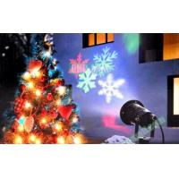 Wholesale IP44 Waterproof Christmas Outdoor Snow Snowflake Pattern LED Projector Laser Light for Garden Yard from china suppliers
