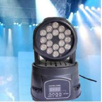 Wholesale Mini 3W RGB LED Moving Head Wash Light 9 channels DMX512 KTV Stage Light from china suppliers