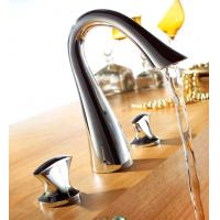 Wholesale Brass Double Handles Basin Faucet from china suppliers