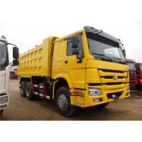 Wholesale HOWO 6x4 Heavy Duty Dump Truck , 18M3 20M3 U Shape 30 Ton 25 Ton Dump Truck from china suppliers