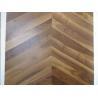 Buy cheap American walnut Chervon parquet flooring, Chervon walnut wooden floors, special 45 degree angel from wholesalers