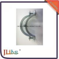 Wholesale Zinc Plated / Plastic Dipping Steel Q195 Galvanised Pipe Clamps 63mm - 315mm from china suppliers