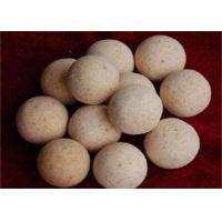 Wholesale 1900 Degree Size 40,50,60 Refractory Ball For Hot Blast Stove , High Temperature Resistance from china suppliers