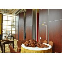 Wholesale Vinyl Finish Top Hung Folding Sliding Partitions  For Wedding Room from china suppliers