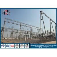 Wholesale Q235 Electrical Power electric transmission tower Substation Tubular Steel Structure from china suppliers
