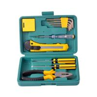 Wholesale 12PCS Hand Tools Family Usage Tools Mini Tool Kit from china suppliers