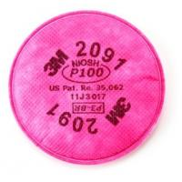 Buy cheap 3M Particulate Filter 2091/07000(AAD), P100 Respiratory Protection, 100/cs from wholesalers