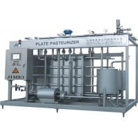 Wholesale 3000L Aseptic Wine / Juice / Milk Plate Pasteurizer Sterilization Machine with PLC Control from china suppliers