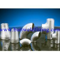 Wholesale UNS 6601 UNS 6625 UNS 10276 Butt Weld Fittings Weldable Elbows , Reducing Tee from china suppliers