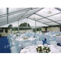 Wholesale Outdoor Party Tent Transparent PVC Fabric Cover Aluminum Framed Structure from china suppliers