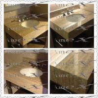 Wholesale Bathroom Countertops Vanity Top Travertine from china suppliers