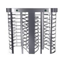 Wholesale Automatic Electric Full Height Turnstile Entrance Gate With Stainless Steel Tube from china suppliers