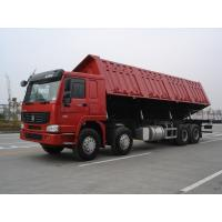 Quality Quad Axle Heavy Duty Dump Truck With 371hp Engine For Highway Standard Load for sale