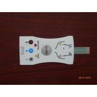 Wholesale Flexible Custom Membrane Keypad Switch Touch Panel Overlay , ISO RoHS Approved from china suppliers