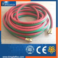 Wholesale Red/Green EPDM Rubber Twin  Welding Hose 20bar from china suppliers