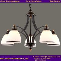 Wholesale 2015 hot sale black iron chandelier from china suppliers