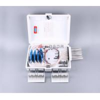 Quality 16 Port Fiber Optic Termination Box FDB0216G White with SC/APC PLC splitter for sale