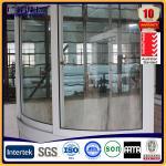 Wholesale aluminium bay windows ,aluminium curved window from china suppliers