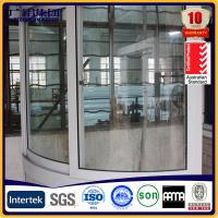 Quality aluminium bay windows ,aluminium curved window for sale