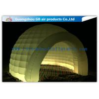 Wholesale Multi Color Lighting Round Inflatable Air Tent Dome With Oxfor Cloth Material from china suppliers