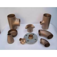 Wholesale elbow Cap,ASTM / ASME SB 61 / 62 / 151 / 152. 70600(90:10), C71500 (70:30), C71640 from china suppliers