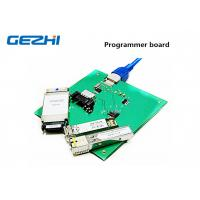 Quality Programmer board of optical transceivers GBIC , SFP , SFP+ , XFP , X2 , XENPAK for sale