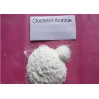 Wholesale 4- Chlorotestosterone Acetate / Testosterone Steroid With High Purity , CAS 855-19-6 from china suppliers
