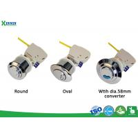 Quality Universal Cable Dual Flush Valve With Chrome Plated Push Button Dia. 38 - 58mm for sale