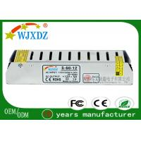 Quality High Efficiency ac to ac switching power supply 12V , LED Lamp Power Supply 60W for sale