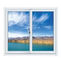 Wholesale Blue Aluminium Single Replacement Slider Window Reflective Glass Design ISO9001 / CE from china suppliers