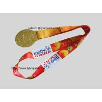 Wholesale Medal Holder Neck Straps, Dyes Sublimation Medal Lanyards from china suppliers