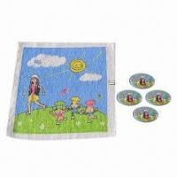Wholesale 100% Cotton Magic Hand Towel for Children, Customized Designs, Materials and Sizes are Accepted from china suppliers