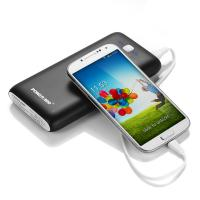 Wholesale Lightweight Dual USB Power Bank , Lithium Ion Portable Power Bank 18650 20000mah from china suppliers