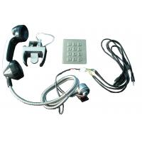 Wholesale Sliver Alloy weather proof phones Sets With Numeric Keypad for kiosk from china suppliers