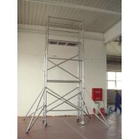 Wholesale Light Weight Climbing Aluminum Scaffolding / 26ft Mobile Scaffold tower With Tig Welded System from china suppliers
