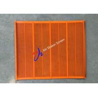 Wholesale 836*700mm Polyurethane Vibrating Screen Mesh For Fine Particle Separation from china suppliers