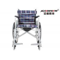 Wholesale Steel Pipe Big Wheels Portable Power Wheelchair , Manual Lightweight Wheelchairs from china suppliers