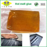 Wholesale EVA  Resin Hot Melt Adhesive Block For PE / PO Bags Sealing , Courier Bag Adhesive from china suppliers
