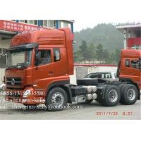 Wholesale 6 x 4 tractor head truck trailer / prime mover with 3 persons Capacity from china suppliers