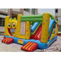 Wholesale 5 × 5 m Cute Cartoon Inflatable Bounce House Slide Combo For Children from china suppliers