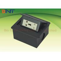 Wholesale Smart Compact Desk Pop Up Sockets , Pop Out universal power plug for Office Furniture from china suppliers