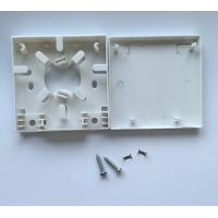 Wholesale ABS Lightweight Optic Termination Box For FTTH Indoor Connection For Two Fibers 86-Type from china suppliers