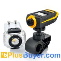 Wholesale ProView HD - Full HD Extreme Sports Action Camera - 1080p, Waterproof Case, HDMI, 4 Mounting Accessories from china suppliers