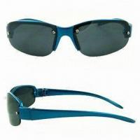 Quality Non-toxic Sunglasses, Suitable for Kids, Available with Scratch-resistant Coating on Lens, Lead-free for sale